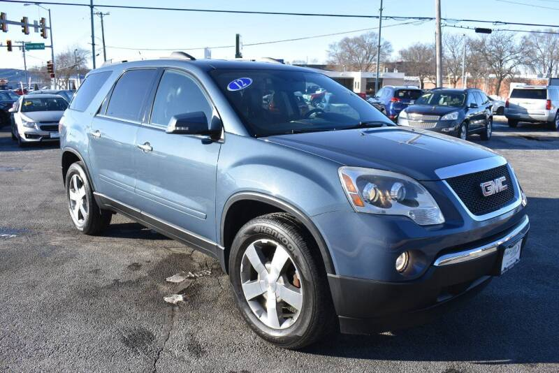 2012 GMC Acadia for sale at World Class Motors in Rockford IL