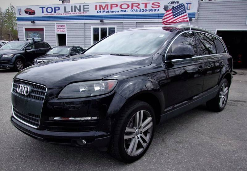 2009 Audi Q7 for sale at Top Line Import of Methuen in Methuen MA