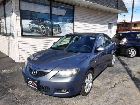 2008 Mazda MAZDA3 for sale at TOP YIN MOTORS in Mount Prospect IL
