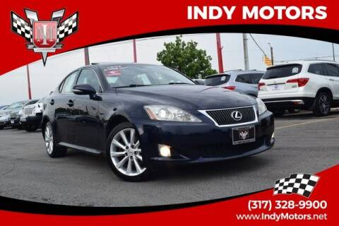 2009 Lexus IS 250 for sale at Indy Motors Inc in Indianapolis IN