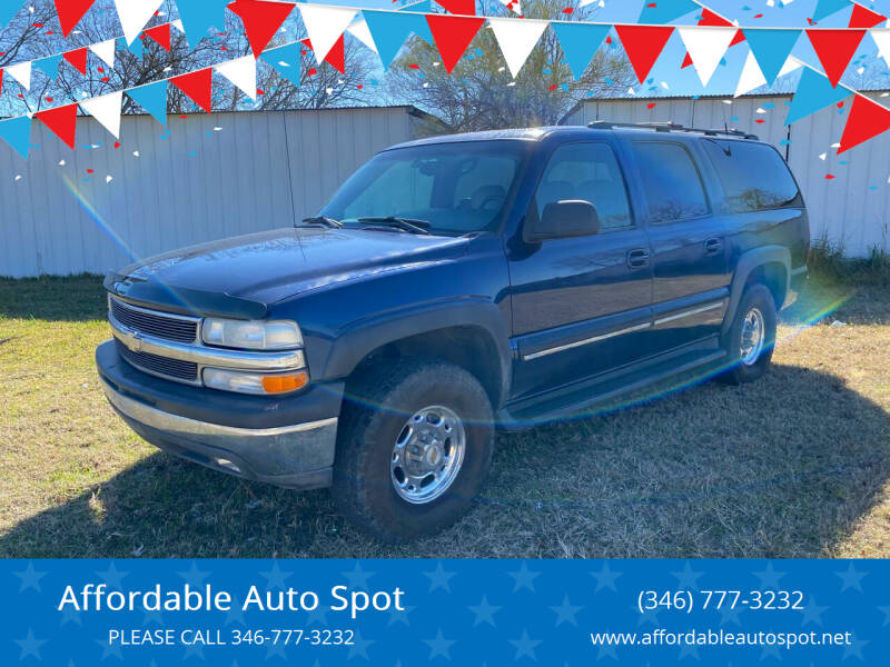 2001 Chevrolet Suburban for sale at Affordable Auto Spot in Houston TX