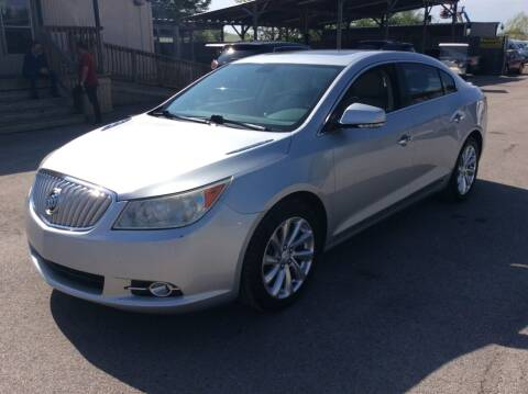 2012 Buick LaCrosse for sale at OASIS PARK & SELL in Spring TX
