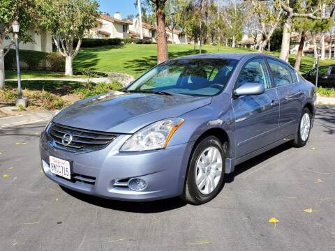 2012 Nissan Altima for sale at E MOTORCARS in Fullerton CA