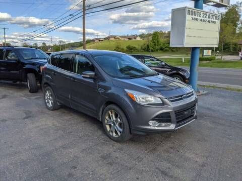 2013 Ford Escape for sale at Route 22 Autos in Zanesville OH