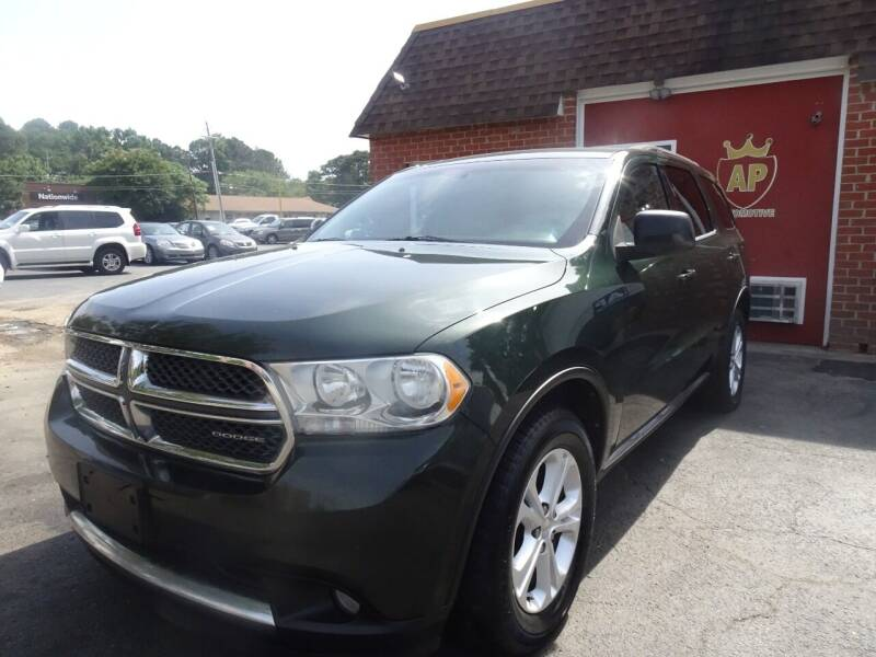 2011 Dodge Durango for sale at AP Automotive in Cary NC