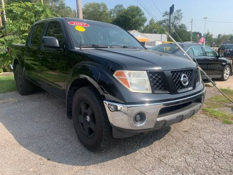 2007 Nissan Frontier for sale at Triangle Auto Sales 2 in Omaha NE