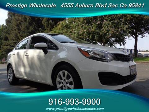 2013 Kia Rio for sale at Prestige Wholesale in Sacramento CA