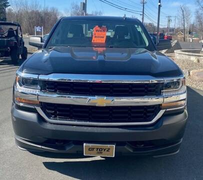 2017 Chevrolet Silverado 1500 for sale at GT Toyz Motor Sports & Marine in Halfmoon NY