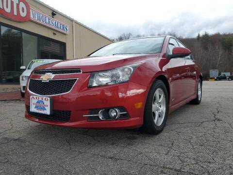 2013 Chevrolet Cruze for sale at Auto Wholesalers Of Hooksett in Hooksett NH
