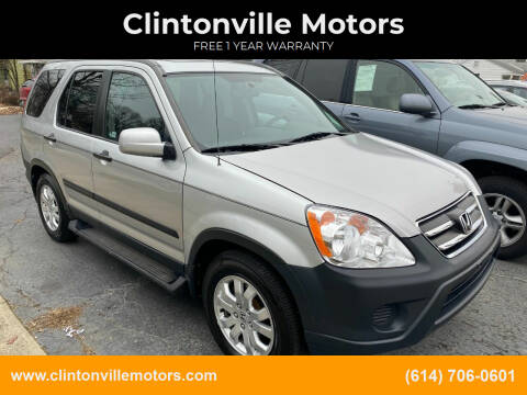 2006 Honda CR-V for sale at Clintonville Motors in Columbus OH