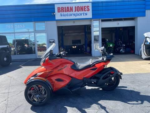 2016 Can Am Spyder ST-S SE5 for sale at Brian Jones Motorsports Inc in Danville VA