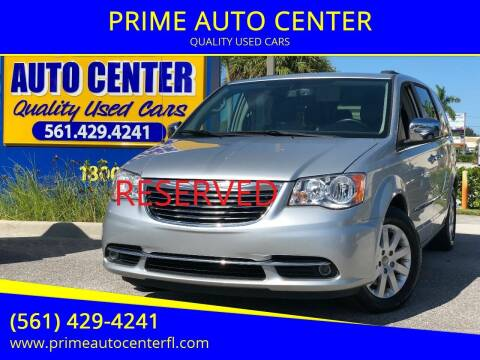 2012 Chrysler Town and Country for sale at PRIME AUTO CENTER in Palm Springs FL