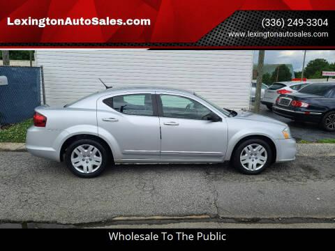 2012 Dodge Avenger for sale at LexingtonAutoSales.com in Lexington NC