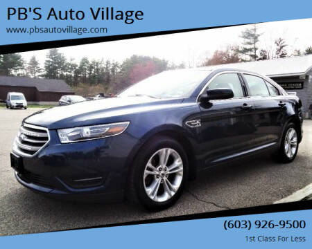 2017 Ford Taurus for sale at PB'S Auto Village in Hampton Falls NH