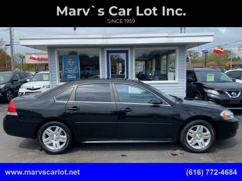 2012 Chevrolet Impala for sale at Marv`s Car Lot Inc. in Zeeland MI