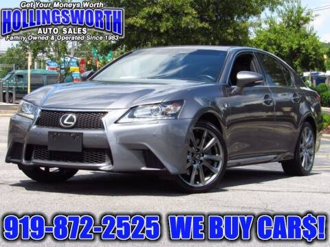 2013 Lexus GS 350 for sale at Hollingsworth Auto Sales in Raleigh NC