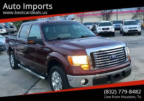 2010 Ford F-150 for sale at Auto Imports in Houston TX