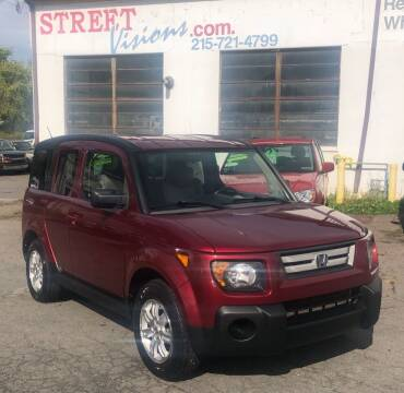 2008 Honda Element for sale at Street Visions in Telford PA
