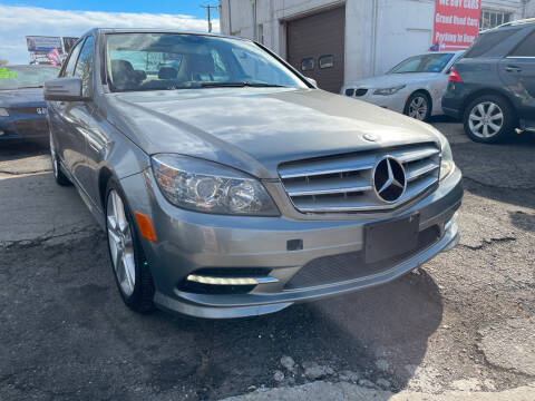 2011 Mercedes-Benz C-Class for sale at GRAND USED CARS  INC in Little Ferry NJ
