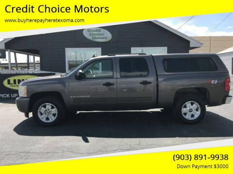 2007 Chevrolet Silverado 1500 for sale at Credit Choice Motors in Sherman TX