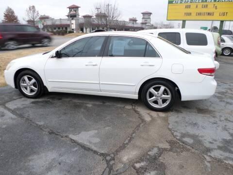 2004 Honda Accord for sale at Credit Cars of NWA in Bentonville AR