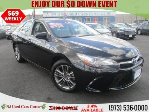 2016 Toyota Camry for sale at New Jersey Used Cars Center in Irvington NJ