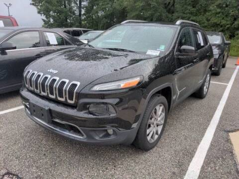 2018 Jeep Cherokee for sale at Strosnider Chevrolet in Hopewell VA