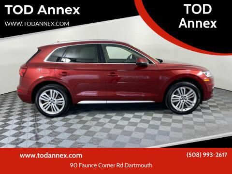 2018 Audi Q5 for sale at TOD Annex in North Dartmouth MA