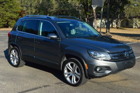 2012 Volkswagen Tiguan for sale at Coleman Auto Group in Austin TX