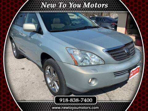 2006 Lexus RX 400h for sale at New To You Motors in Tulsa OK