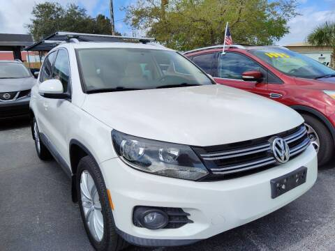 2013 Volkswagen Tiguan for sale at Celebrity Auto Sales in Port Saint Lucie FL