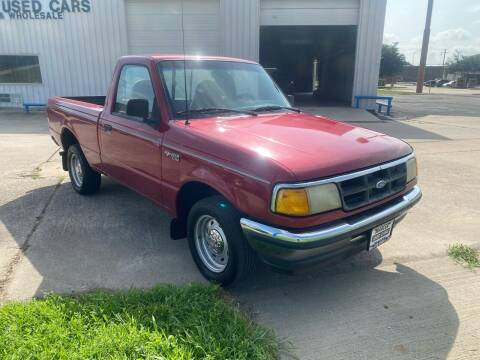 1994 Ford Ranger for sale at MARLER USED CARS in Gainesville TX