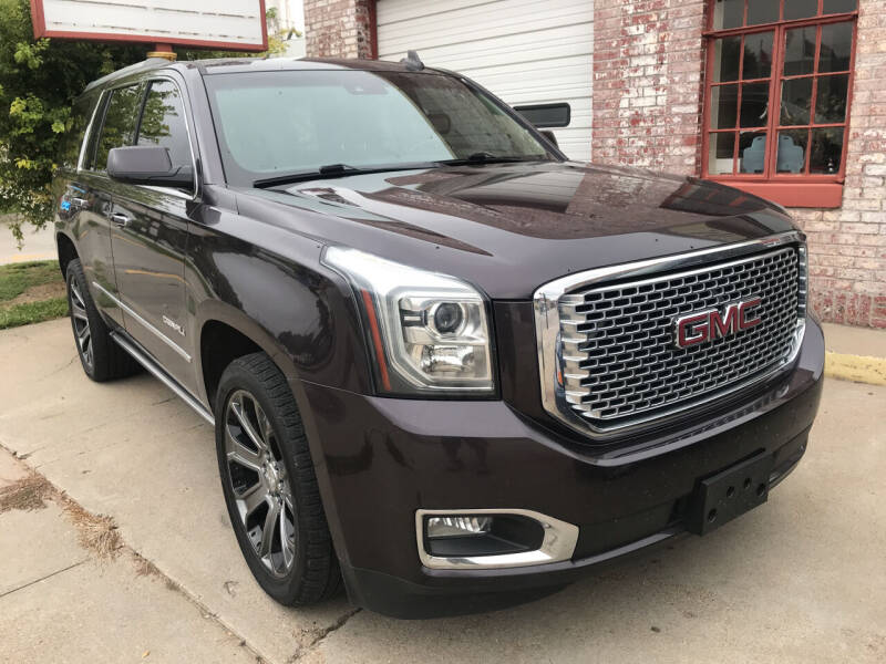 2015 GMC Yukon for sale at Mustards Used Cars in Central City NE