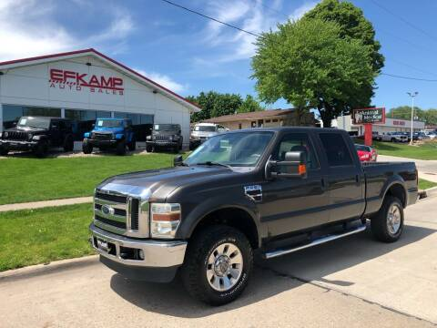 2008 Ford F-250 Super Duty for sale at Efkamp Auto Sales LLC in Des Moines IA