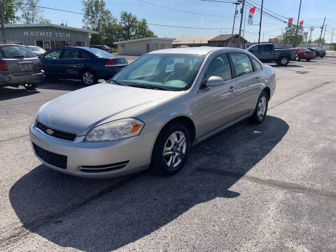 2008 Chevrolet Impala for sale at Bruce Kunesh Auto Sales Inc in Defiance OH
