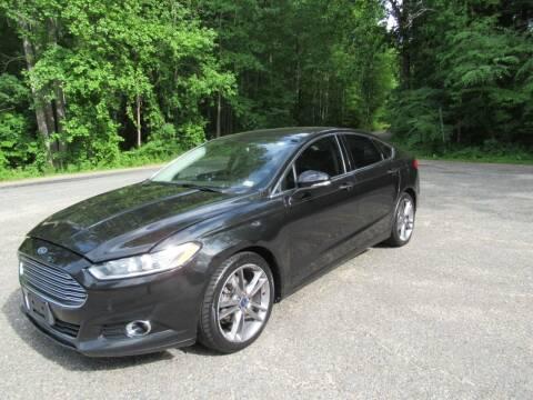 2014 Ford Fusion for sale at 4Auto Sales, Inc. in Fredericksburg VA