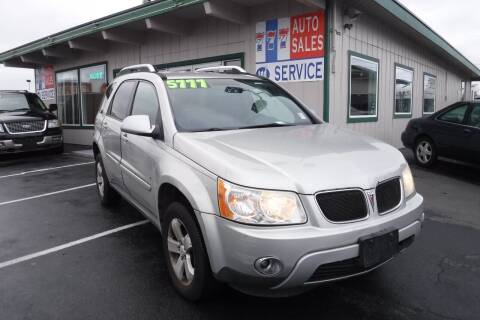 2007 Pontiac Torrent for sale at 777 Auto Sales and Service in Tacoma WA
