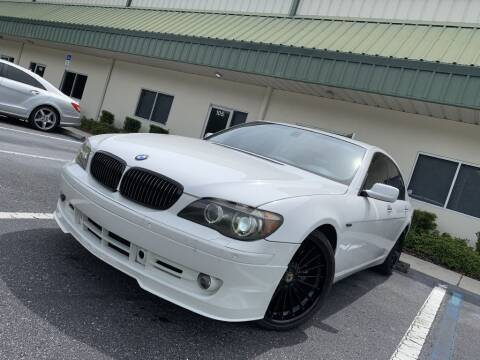 2007 BMW 7 Series for sale at Fisher Motor Group LLC in Bradenton FL