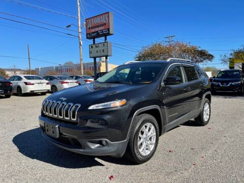 2015 Jeep Cherokee for sale at Autohaus of Greensboro in Greensboro NC