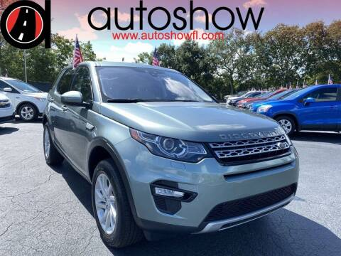 2017 Land Rover Discovery Sport for sale at AUTOSHOW SALES & SERVICE in Plantation FL