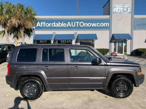 2016 Jeep Patriot for sale at Affordable Autos in Houma LA