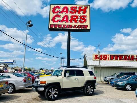 2008 Toyota FJ Cruiser for sale at www.CashKarz.com in Dallas TX