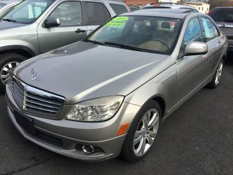 2008 Mercedes-Benz C-Class for sale at Dijie Auto Sale and Service Co. in Johnston RI