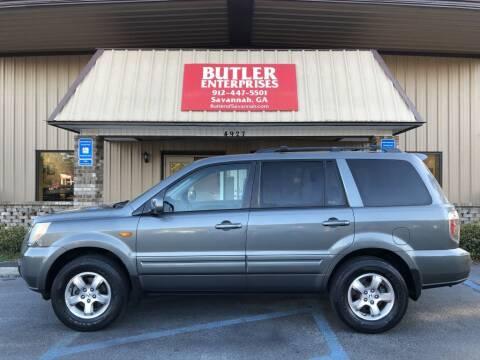 2008 Honda Pilot for sale at Butler Enterprises in Savannah GA