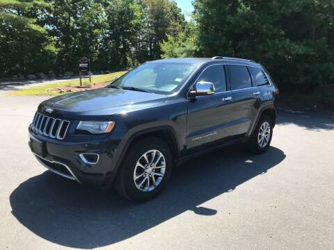 2014 Jeep Grand Cherokee for sale at Nala Equipment Corp in Upton MA