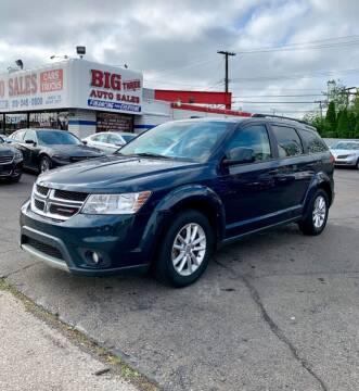 2014 Dodge Journey for sale at Big Three Auto Sales Inc. in Detroit MI