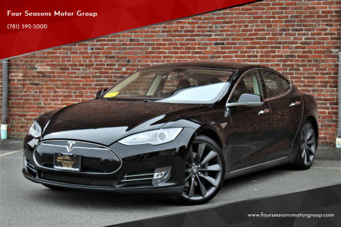 2014 Tesla Model S for sale at Four Seasons Motor Group in Swampscott MA