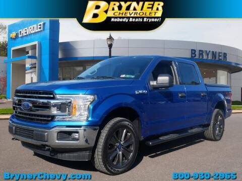 2018 Ford F-150 for sale at BRYNER CHEVROLET in Jenkintown PA