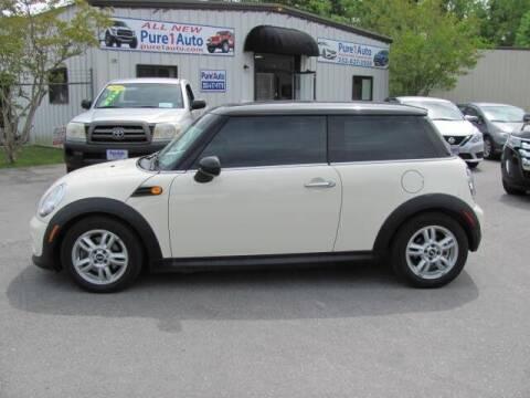 2013 MINI Hardtop for sale at Pure 1 Auto in New Bern NC
