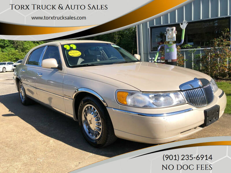 1999 Lincoln Town Car for sale at Torx Truck & Auto Sales in Eads TN